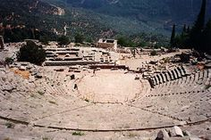 Delphi, Greece ... the first ancient Greek Theatre I ever saw!