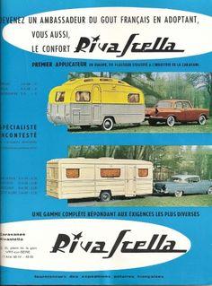 French caravan advert