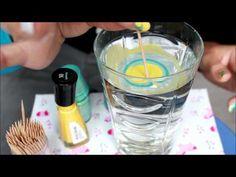 Water Marble - Wassermarmorierte Fingernägel - Tutorial