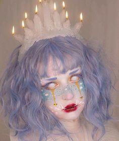 dream eater is my NYX Face Awards final entry! the theme was lucid dreams and I created a character after being inspired by the Baku Clown Makeup, Sfx Makeup, Cosplay Makeup, Costume Makeup, Makeup Art, Halloween Face Makeup, Makeup Style, Lolita Makeup, Pastel Goth Makeup