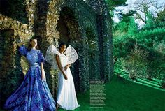 The June 2017 issue of Harper's Bazaar UK puts the spotlight on the spring haute couture and ready-to-wear collections with this editorial. Called, 'A New Eden', the dreamy spread stars models Ophelie Guillermand, Sui He and Tami Williams. Photographed by Erik Madigan Heck, the trio head outdoors in gorgeous gowns and dresses. Stylist Leith Clark …