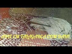Tapete peludo: barbante ou lã?...... Como cortar?.....Qual o mais em conta para fazer?.... - YouTube