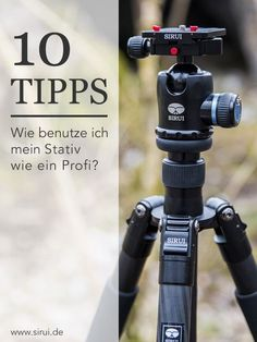 10 tips for the right tripod use - Fotografie - Photographie Photography Gear, Tumblr Photography, Photoshop Photography, Photography Tutorials, Nature Photography, Presets Photoshop, Smartphone Fotografie, Fotografie Hacks, Photo Equipment