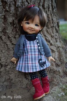 Oh my word! Tiny Dolls, Blythe Dolls, Cute Baby Dolls, Cute Babies, Dolly Doll, Baby E, Realistic Dolls, Polymer Clay Dolls, Organic Baby Clothes