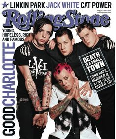"""Good Charlotte were young, rich and famous. 