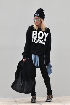 Discover the latest in women's fashion and men's clothing online. Shop from over styles, including dresses, jeans, shoes and accessories from ASOS and over 800 brands. ASOS brings you the best fashion clothes online. Daily Fashion, Fashion News, Fashion Models, Fashion Trends, London Outfit, Fashion Clothes Online, Boy London, Boyish, Winter Fashion Outfits