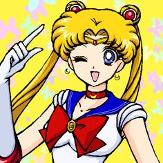 sailor moon wink