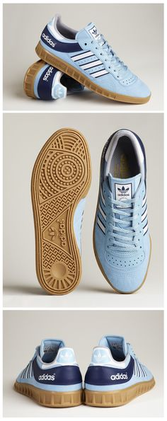 adidas Originals Handball Top: Argentina Blue