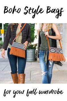 086c8ab6195f White Elm Boho City Collection Fringe Handbags