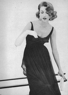 January Vogue 1957 Roger Prigent