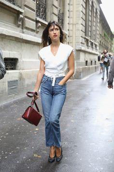 Sobre el asfalto parisino.... el 'street style' de la Alta Costura