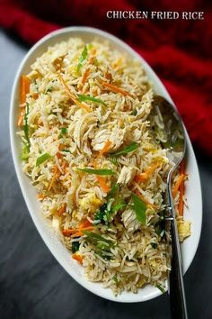 Indo Chinese Chicken Fried Rice, Chicken Fried rice, how ot make indo chinese fried rice, how to make chicken fried r ice, easy indian recipes Indo Chinese Recipes, Easy Indian Recipes, Asian Recipes, Chinese Food, Korean Food, Healthy Chicken Recipes, Healthy Dinner Recipes, Fast Recipes, Chicken Stir Fry Rice