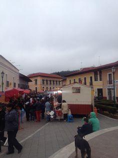 Plaza comercial, Real del monte, Hidalgo.