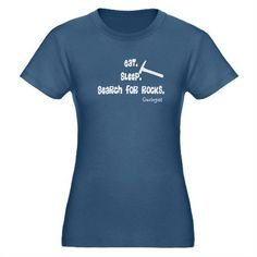 geologist eat sleep rocks DARKS.PNG T-Shirt on CafePress.com