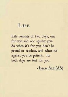 Life — Imam Ali …✖️Fosterginger.Pinterest.Com✖️No Pin Limits✖️More At FOSTERGINGER @ Pinterest✖️