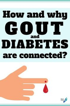 There are many people who are concerned that gout and diabetes are linked together. Sadly, this is true! More in this article. Foods That Cause Gout, Purine Diet, Gout Diet, Gout Remedies, Prevent Arthritis, Causes Of Diabetes, Uric Acid, Knee Pain, Health Facts