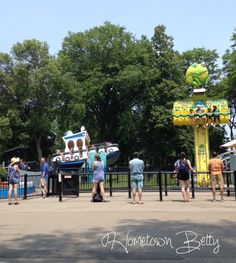 Froggy ride at Centerville Amusement Park in #Toronto #Canada #family #travel #review