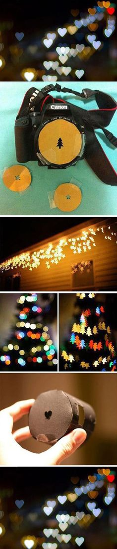 Cool Bokeh tutorial for those awesome shots of lights.