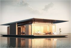 The Floating House is a spectacular project designed by architect Dymitr Malcew for French developer H2ORIZON – a company that specializes in floating structures. It was…