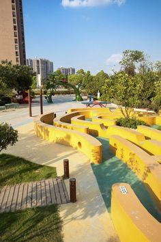 武汉万科金色城市住宅景观