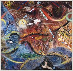The Great Purifying Storm, 1962 - Támas Lossonczy Abstract Painters, Abstract Art, Artwork, Playground, Paintings, Gallery, Google, Photography, Children Playground