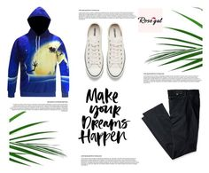 """Rosegal 28 : Outfit for men"" by jasmina-fazlic ❤ liked on Polyvore featuring Levi's, Converse, men's fashion and menswear"