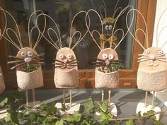 Planter Pots, Place Cards, Place Card Holders, Easter Activities, Clay