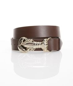 Our Whale of a Sale is ending soon! Enjoy an additional 40% off of this lobster buckle belt for a limited time!