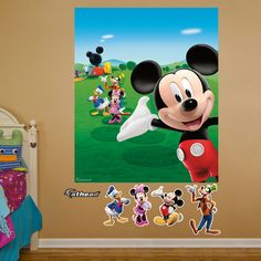 Fathead Disney Mickey Mouse Clubhouse Wall Mural & Reviews | Wayfair