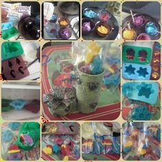 Chocolates De Colores Con Moldes,Mi Primera Vez