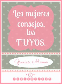 LÁMINAS: Día de la Madre Mom Day, Best Mother, More Than Words, Mom Quotes, Special Events, Letters, Birthday, Life, Chalkboard