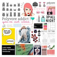 """I Love Polyvore"" by deepwinter ❤ liked on Polyvore featuring art"