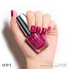 Feel that #MiamiBeet ! This racy shade could be your vice!