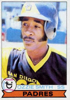 1979 Topps Baseball 116 Ozzie Smith San Diego Padres Very Good Baseball Card Values, Baseball Star, Baseball Cards For Sale, Baseball Players, Baseball Movies, Baseball Scoreboard, Funny Baseball, Baseball Live, Football