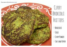 GAPS Broccoli Fritters