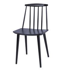 HAY - HAY J77 Stuhl - schwarz/lackiert