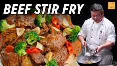 How to Cook Perfect Beef Stir Fry Every Time Meat Recipes video recipe Stir Fry Recipes, Beef Recipes, Cooking Recipes, Cooking Videos, Cooking Tips, Master Chef, Blanching Broccoli, Chefs, Healthy Stir Fry