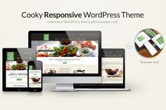Check out Cooky Restaurant WordPress Theme by Anariel Design on Creative Market