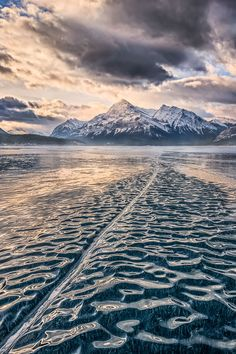 Waves of cold, Abraham Lake, Canadian Rockies, by Artur Stanisz, on 500px.