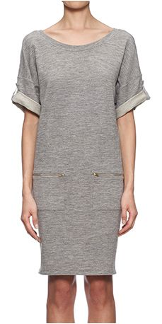 Jaime V Back Sweat Dress