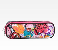 Hello Kitty Pen Pouch: Graffiti