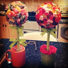 Jelly babie and rowntree randoms sweet trees