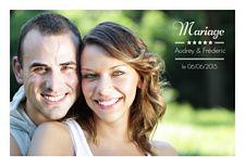 Faire-part mariage 5 étoiles