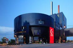Guthrie Theater  Entrance  Jean Nouvel + Architectural Alliance  Minneapolis, Minnesota