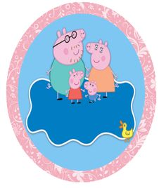h Peppa Pig Printables, Princess Peach, Html, Character, Kids Part, Picture Frame, Fiestas, Amor, Crates