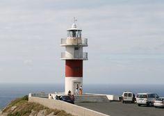 Farol de Cabo Ortegal, em Cariño, na costa atlântica da província da Corunha, na Comunidade Autônoma da Galícia, Espanha.