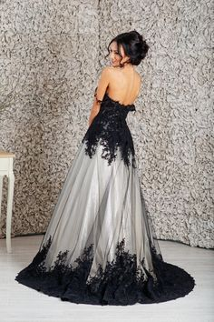 Black wedding dress, Goth wedding dress, Alternative wedding dress, Empire wedding dress - Welcome to our website, We hope you are satisfied with the content we offer. If there is a problem - Goth Wedding Dresses, Halloween Wedding Dresses, Western Wedding Dresses, Princess Wedding Dresses, Halloween Weddings, Modest Wedding, Trendy Wedding, Black White Wedding Dress, Black Wedding Gowns