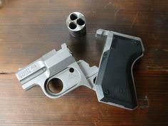 You're not bulletproof..., Cobray Pocket Pal Very interesting little pistol....