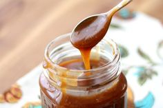 Vanilla Bean Salted Caramel Sauce recipe by Barefeet In The Kitchen