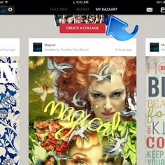 How to Create Collage Art With Bazaart #snapguide #bazaart